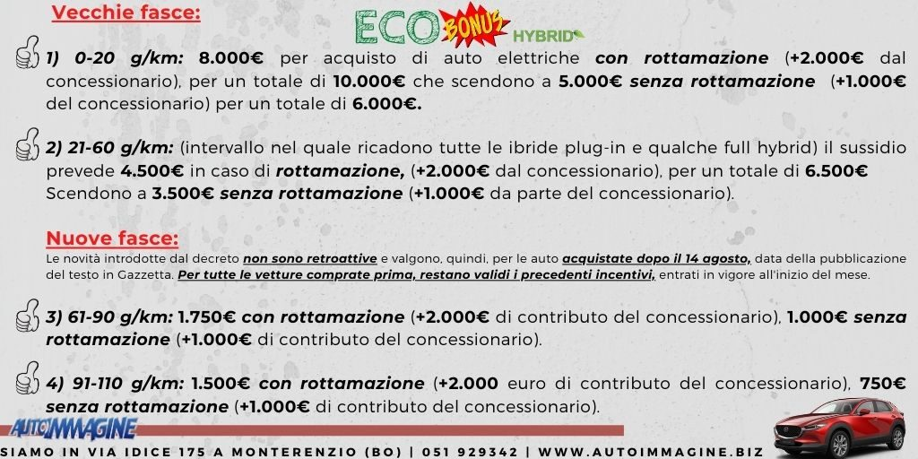 eco-incentivi