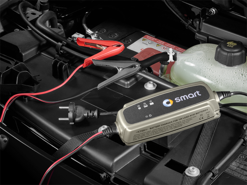 smart forfour batteria