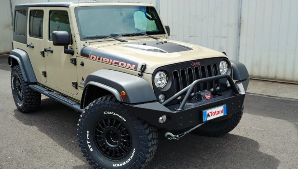 jeep wrangler jk rubicon totani off road fuoristrada