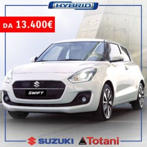 Suzuki Swift Hybrid nuova offerta Totani