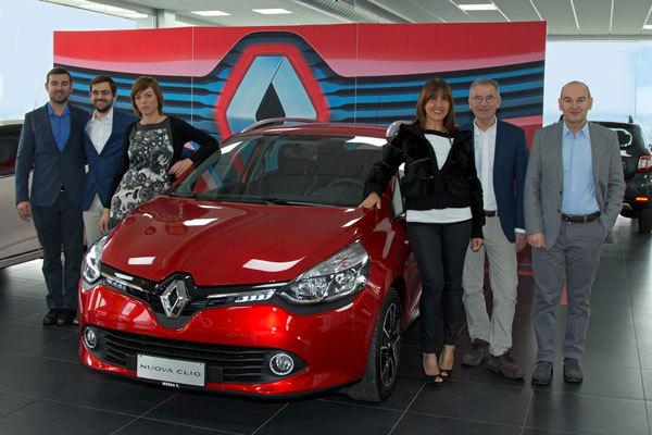 Nuova Renault Clio alla concessionaria Messa