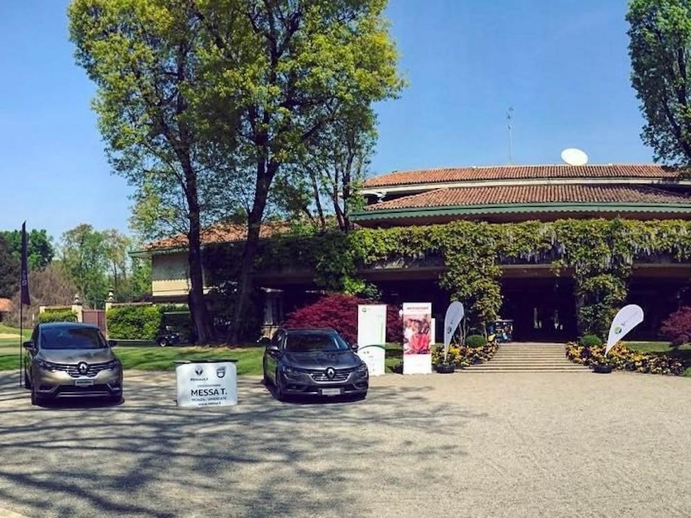 Golf Club di Milano esposizione Renault