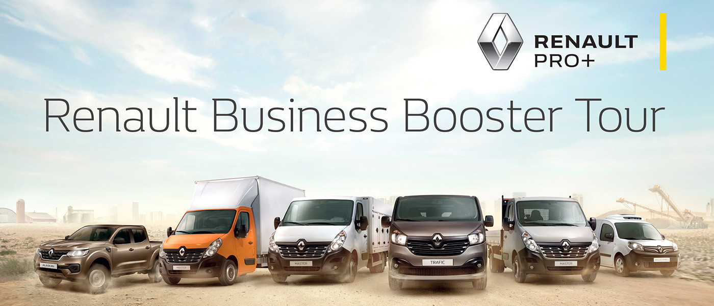 Renault Business Booster Tour | Messa T