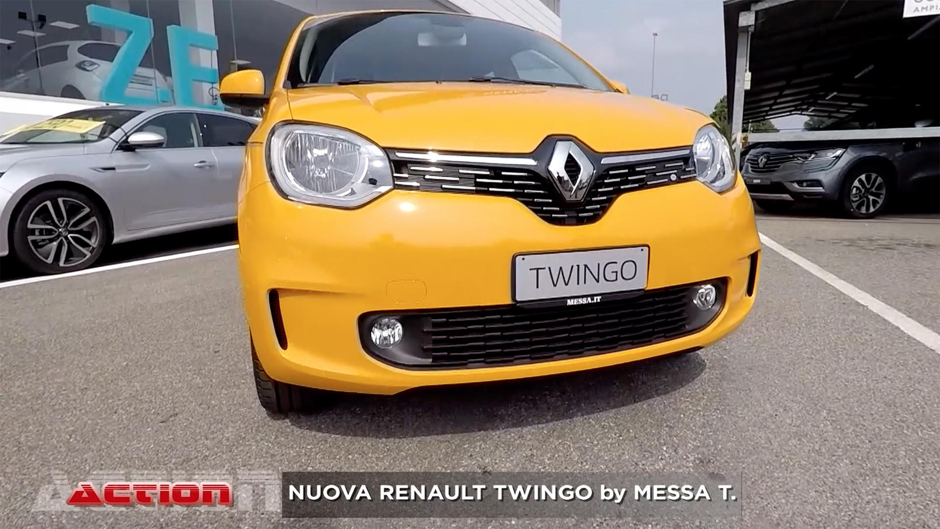Nuova Renault Twingo | Concessionaria Messa T.