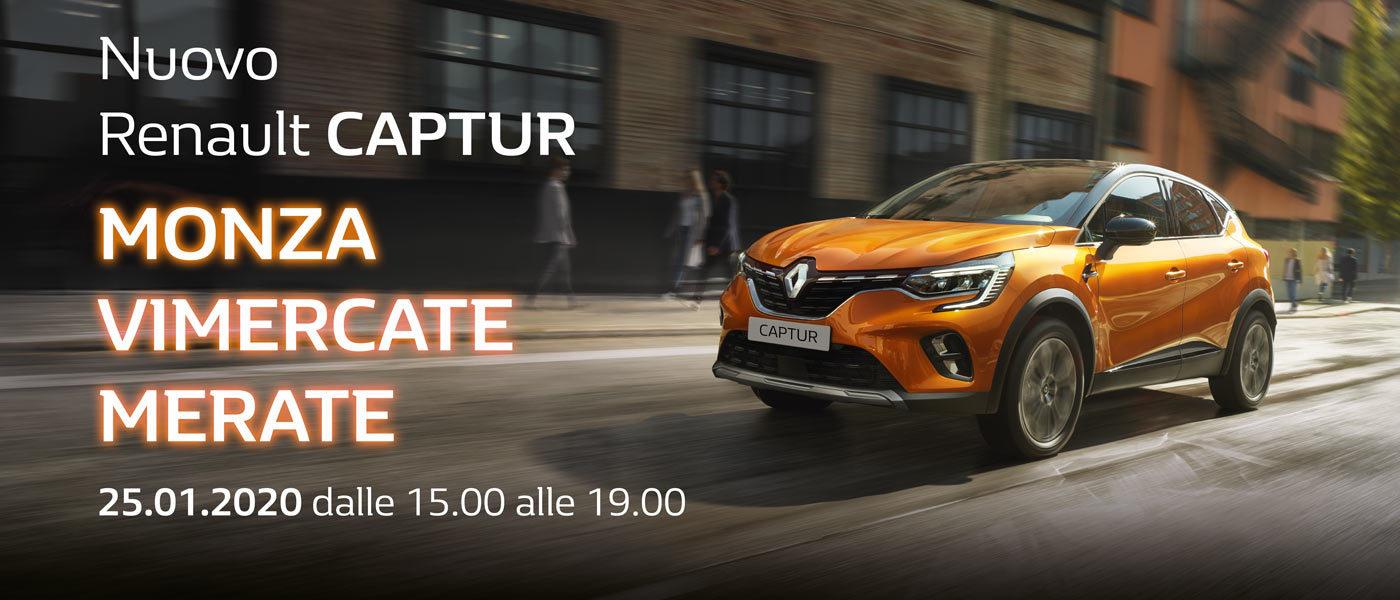 Aperitivo con Nuovo Renault Captur | 25 gennaio 2020 | Concessionaria Messa T