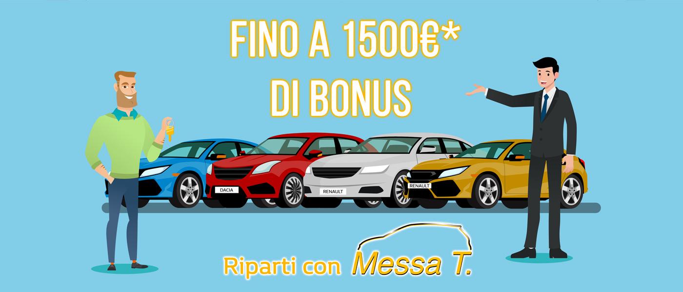 Riparti con Messa T. | Bonus 1500€