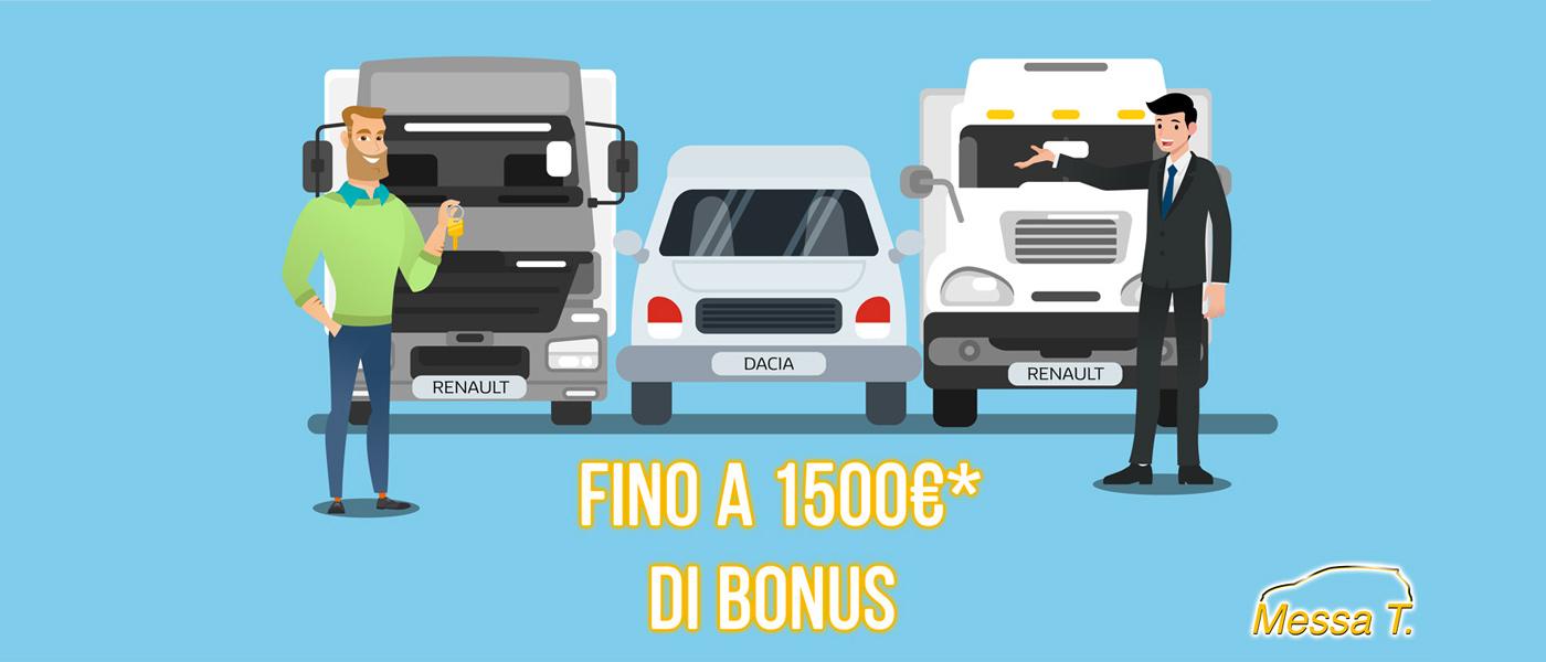 Bonus 1500€ veicoli commerciali   Concessionaria Messa T.