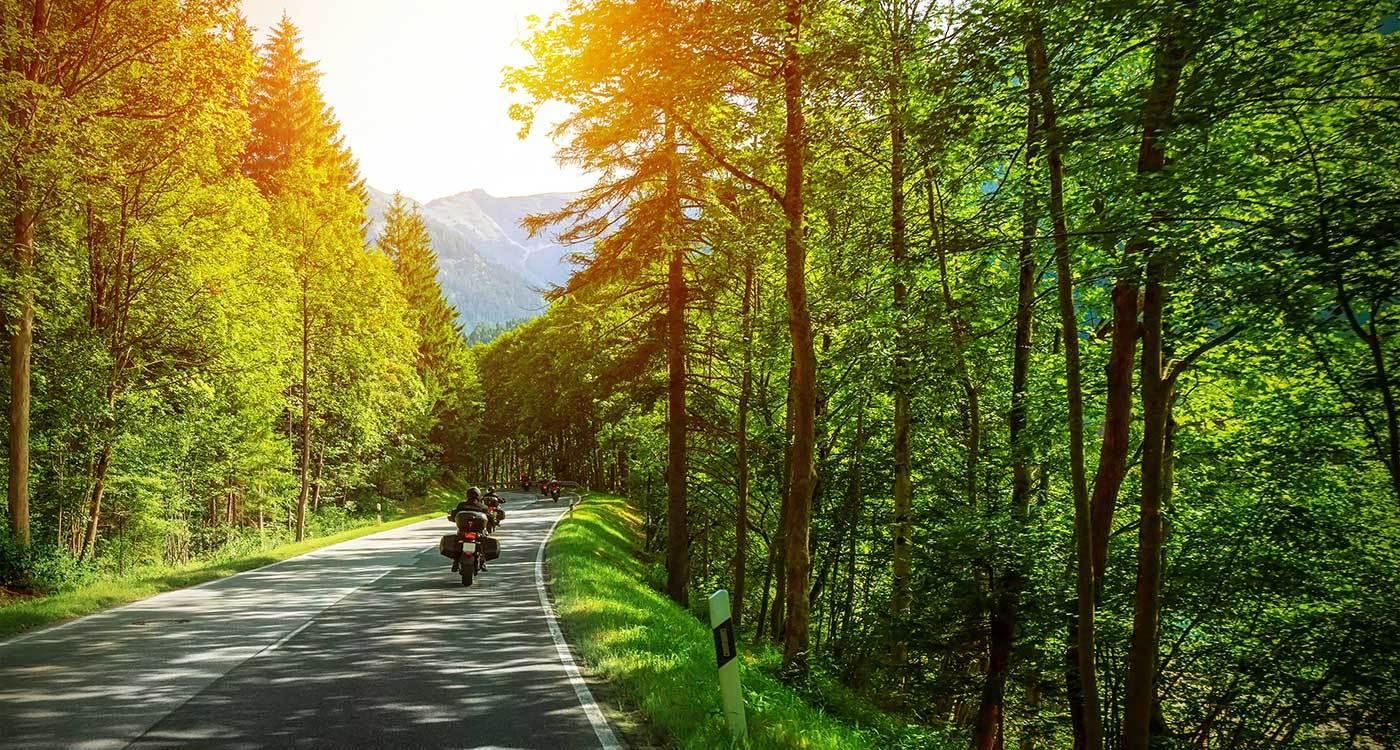 Gita in moto a Soriano nel Cimino.