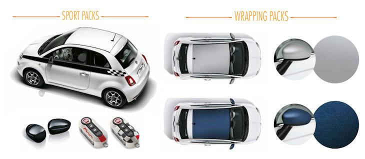tecnologia avanzata grande sconto negozio ufficiale Promozione accessori originali Fiat 500