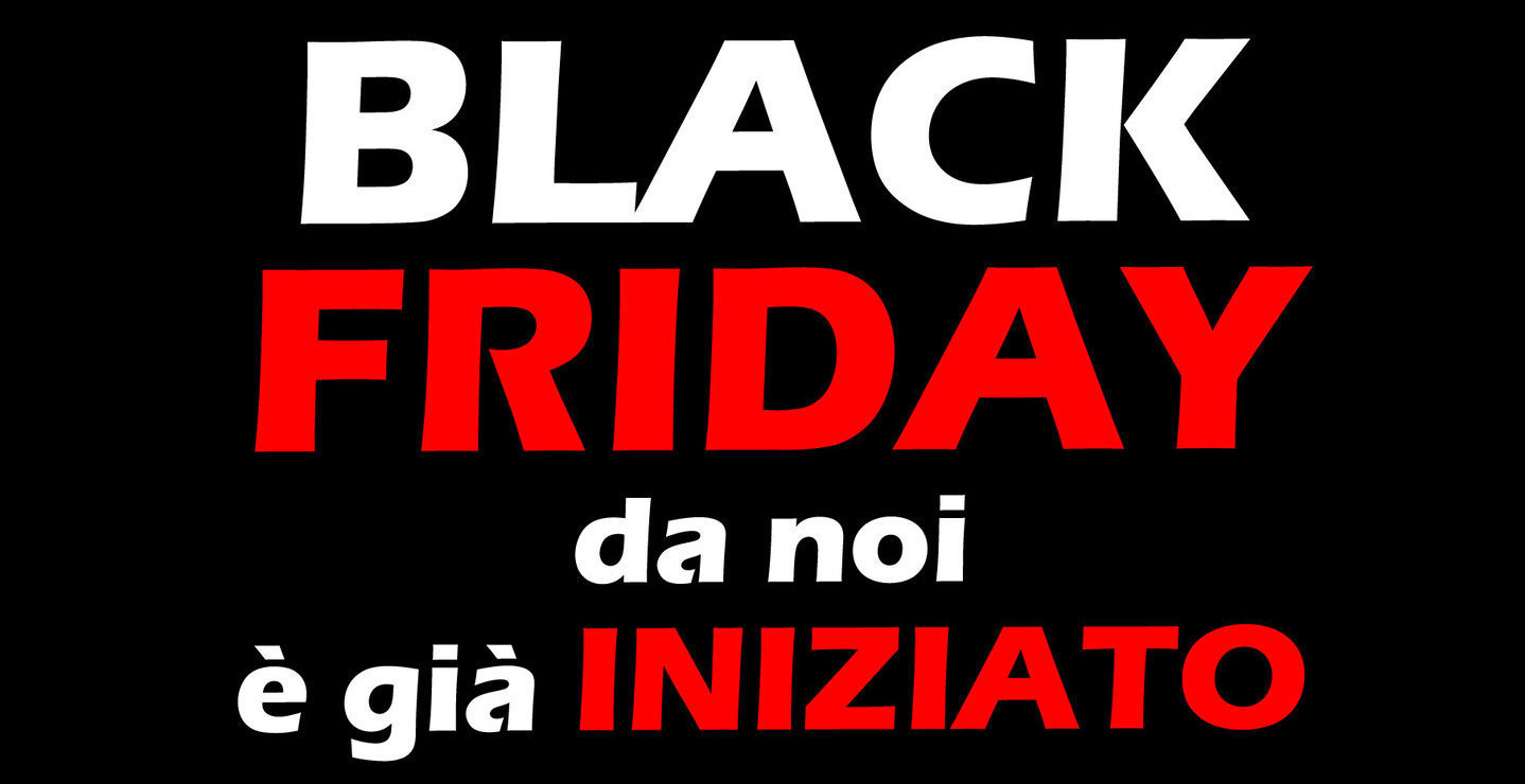 é giò iniziato il Black Friday di Vigevanoauto.com