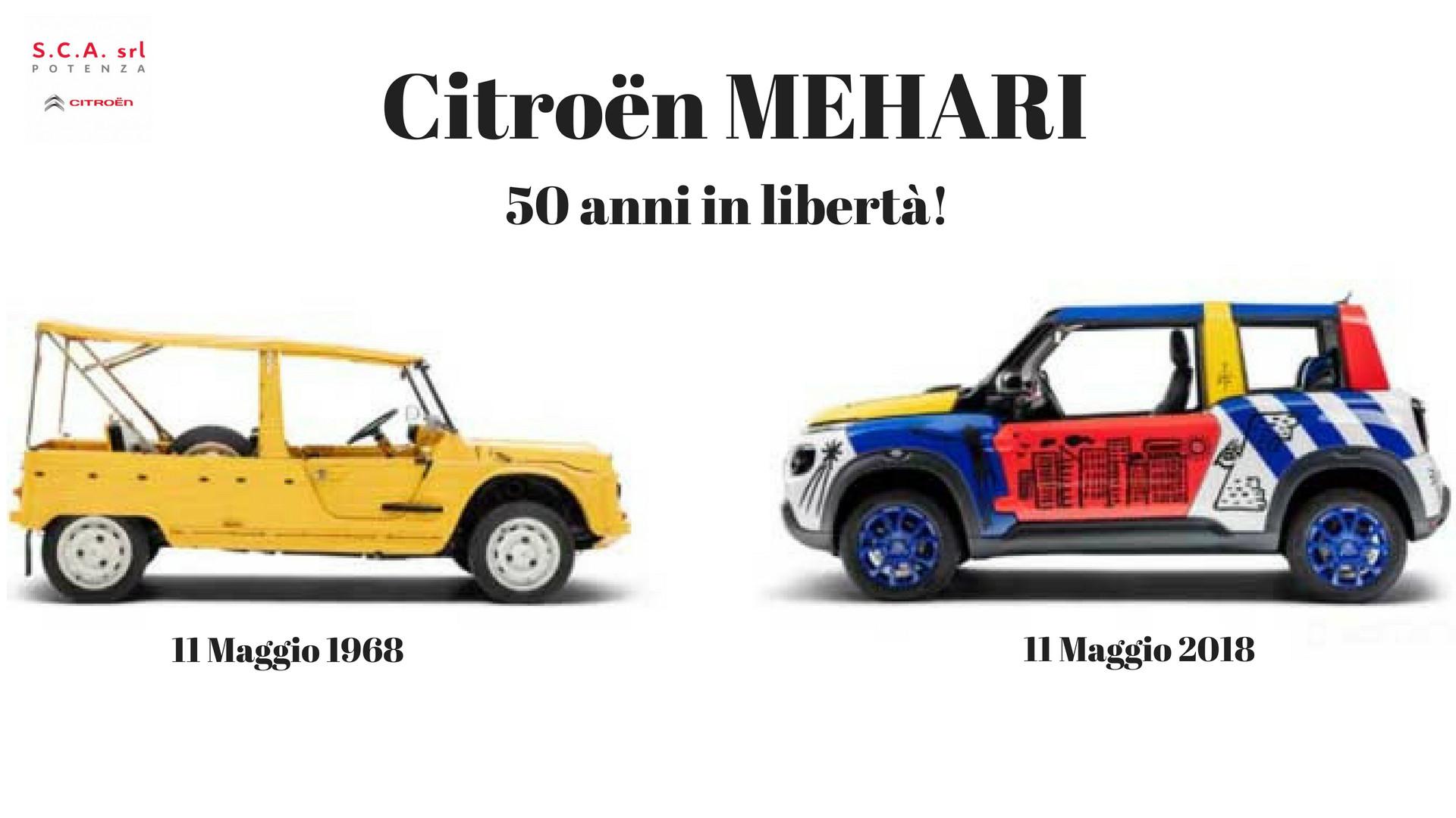 Citroën Mehari, da 50 anni simbolo di libertà