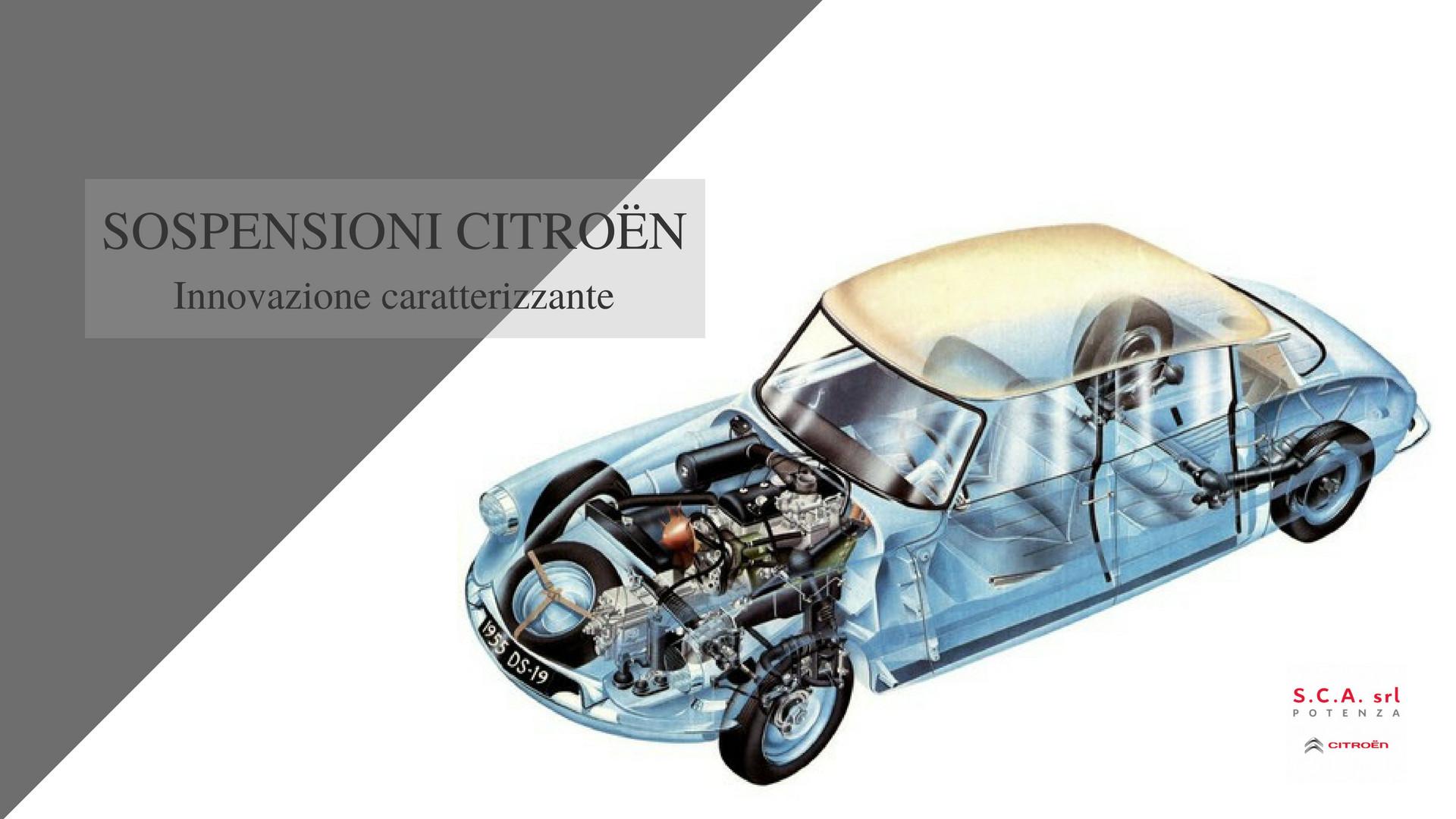 Sospensioni Citroën: storia di una formidabile tradizione