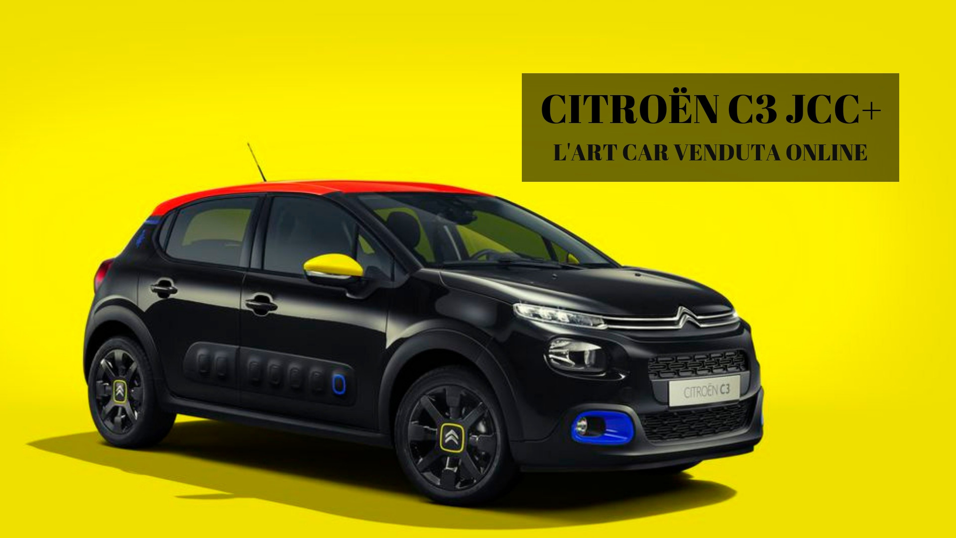 Citroën C3 JCC+,art car firmata Jean-Charles de Castelbajac