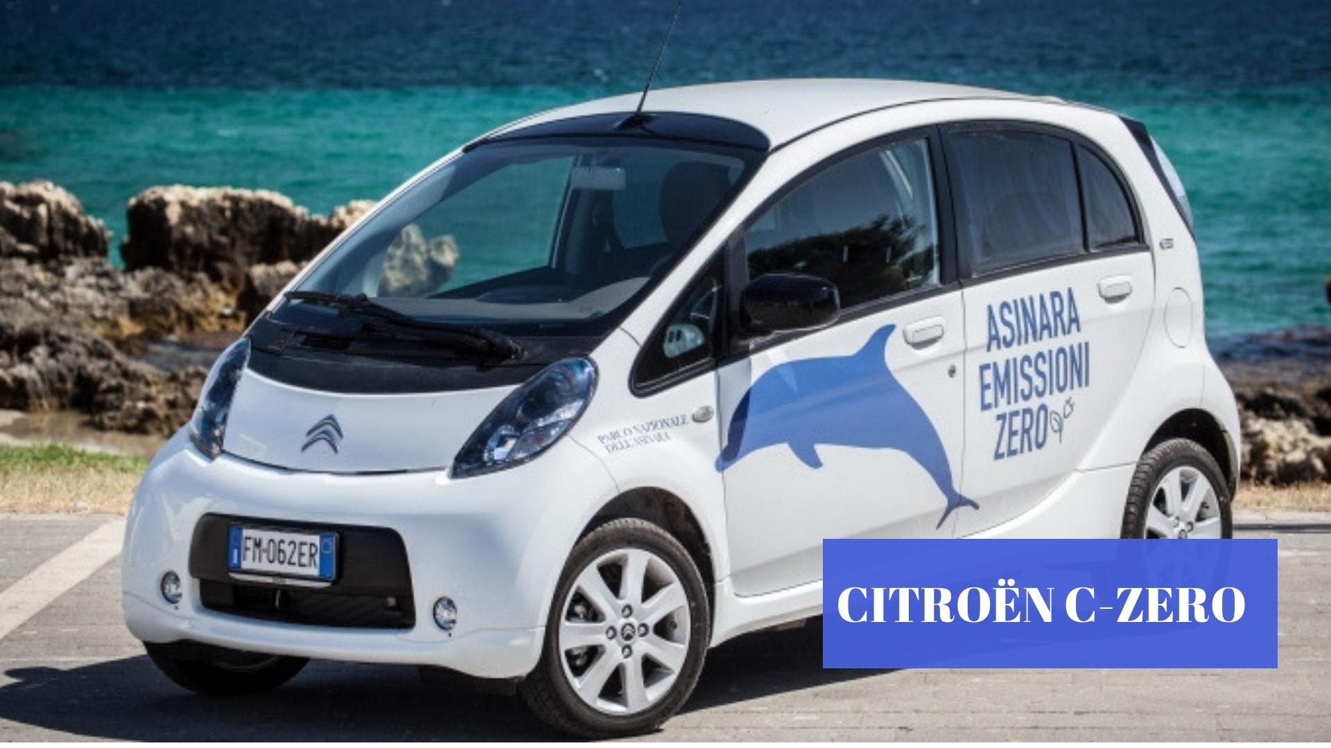 """Quattro Citroën C-Zero per """"Asinara a emissioni zero"""""""