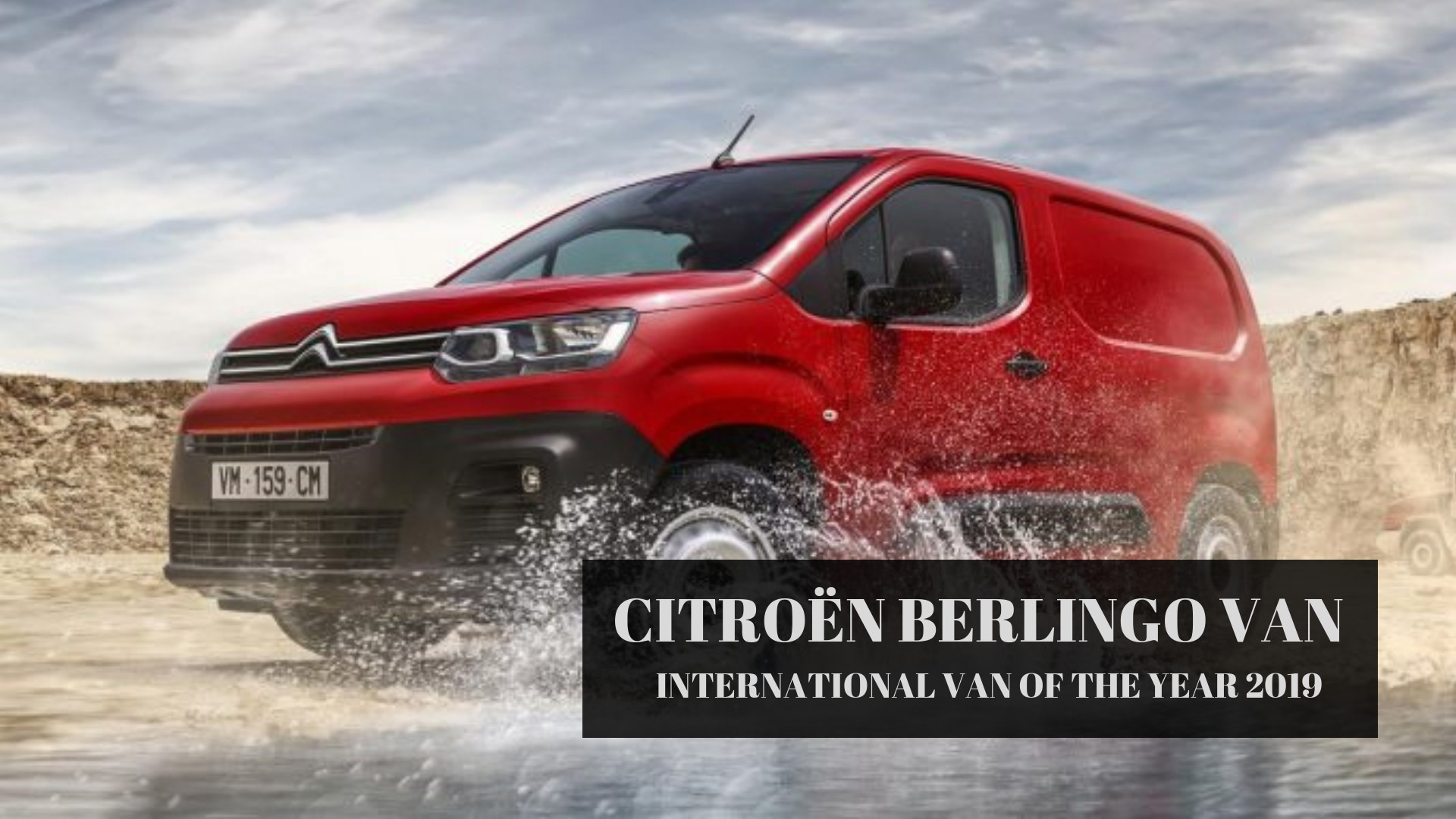 "Citroën Berlingo Van eletto ""International Van of the Year 2019"""