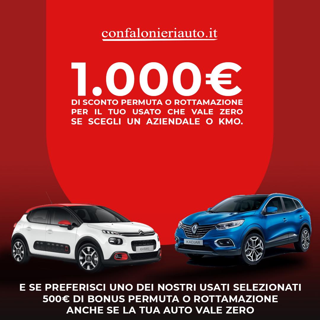 1000€ di extra sconto