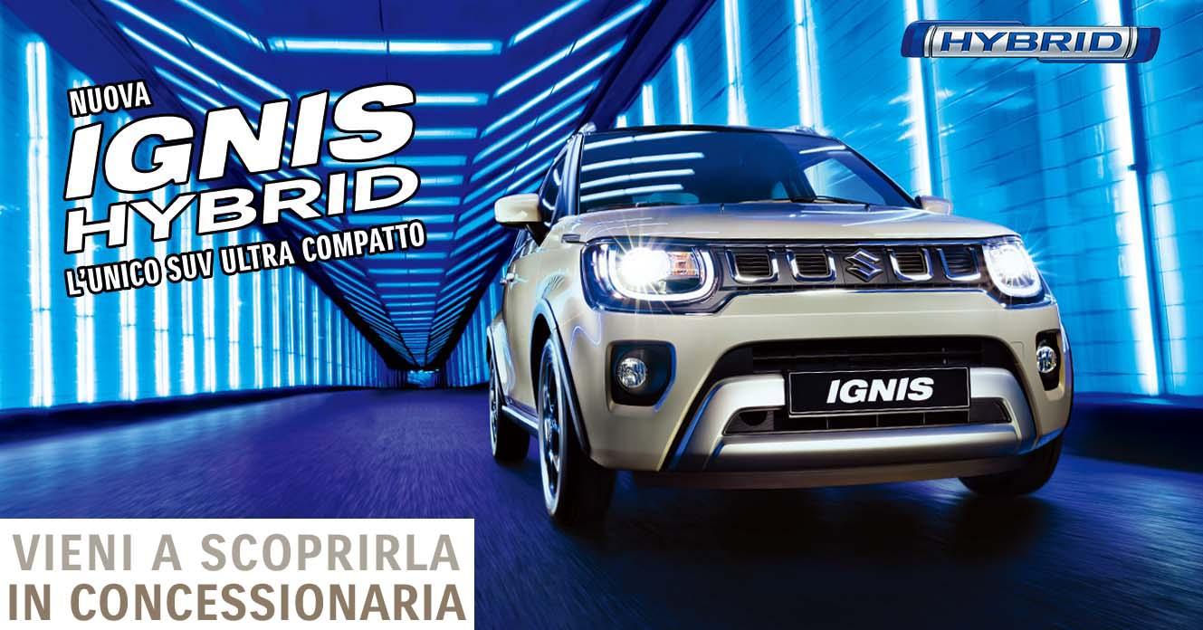 Nuova Suzuki Ignis Hybrid Porte Aperte concessionaria Totani