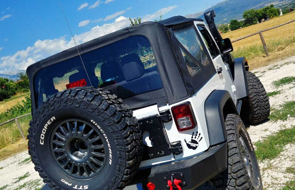 Jeep Wrangler JK fuoristrada Totani Off Road