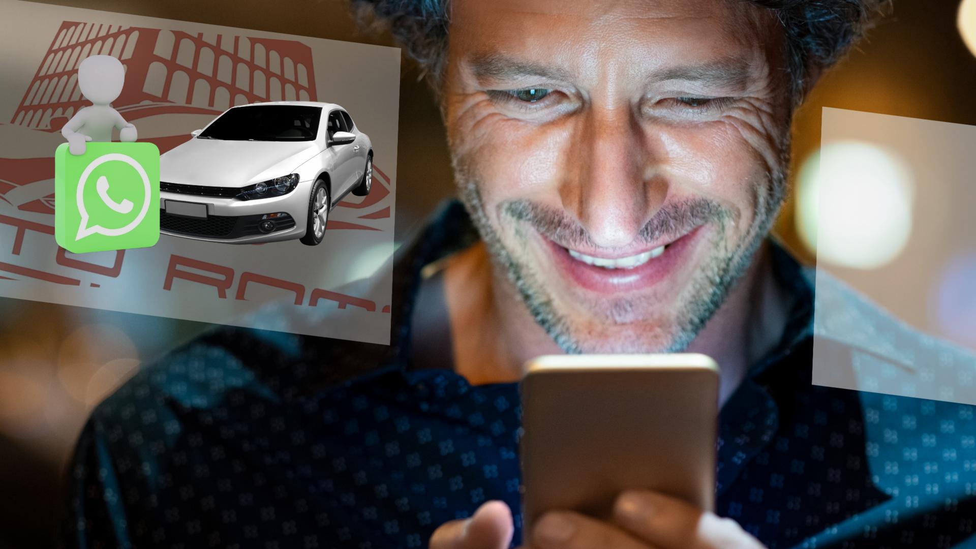 servizio di videochiamata esclusivo per consulenza con esperto di automobili
