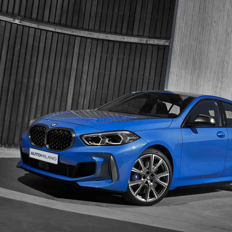 Nuova BMW Serie 1 - Vista Frontale