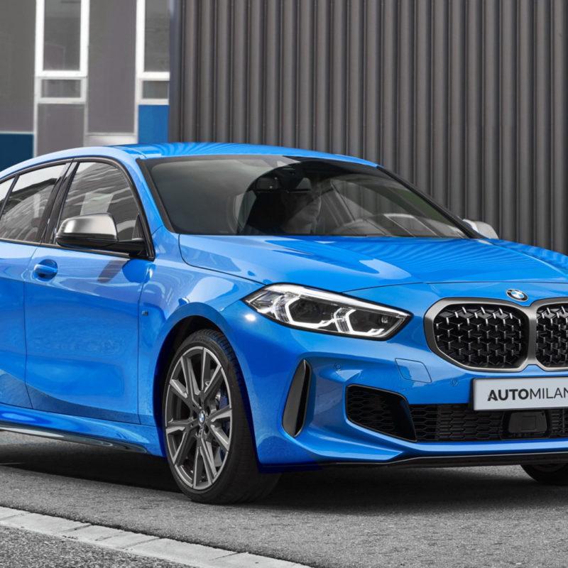 Nuova BMW Serie 1 - Vista Laterale