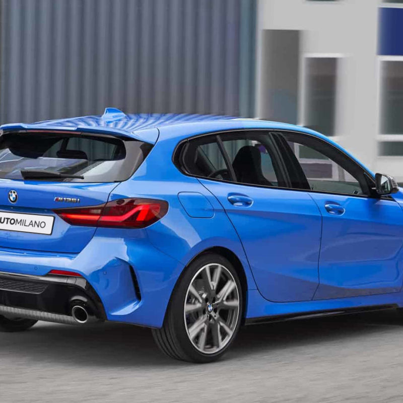 Nuova BMW Serie 1 - Posteriore