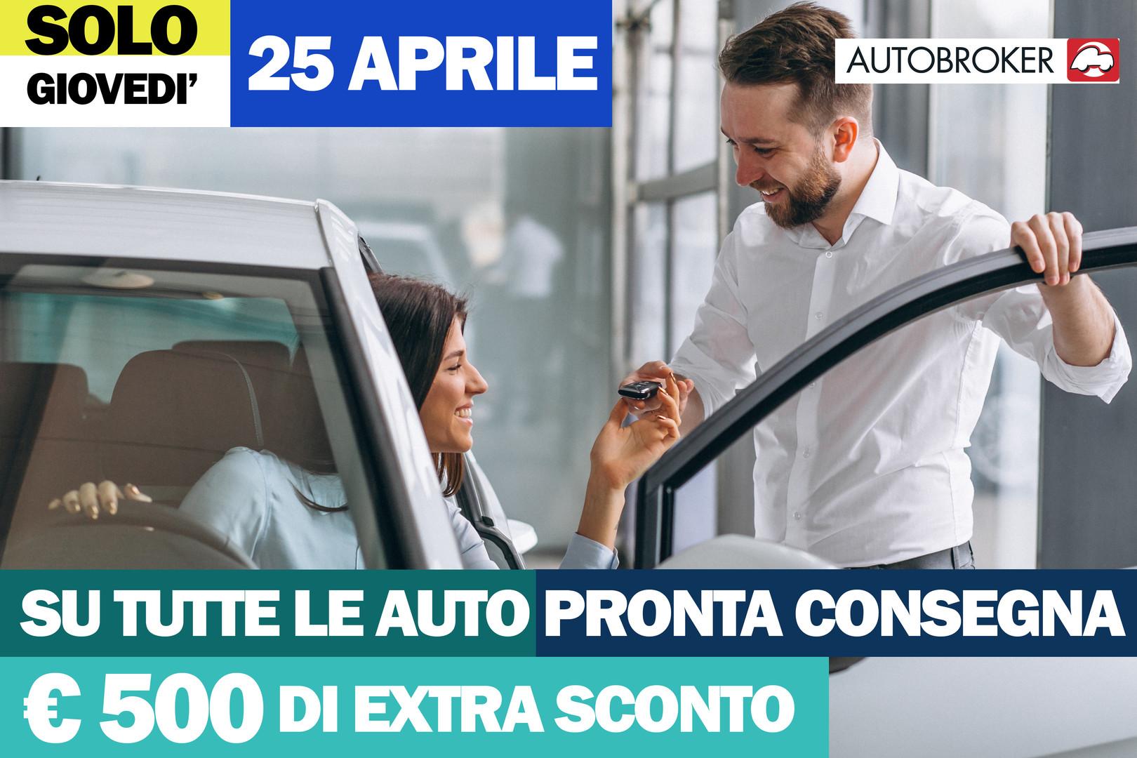 Da gruppo autobroker 500 euro di sconto su auto nissa, fiat, volkswagen pronta consegna