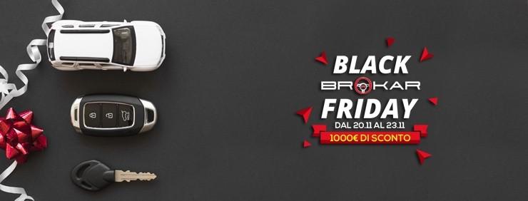 Black Friday Brokar Milano per le auto d'importazione dalla Germania