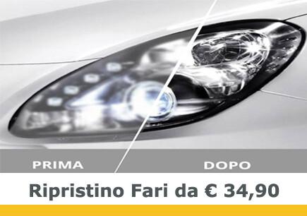 Ripristino Fari da € 34,90