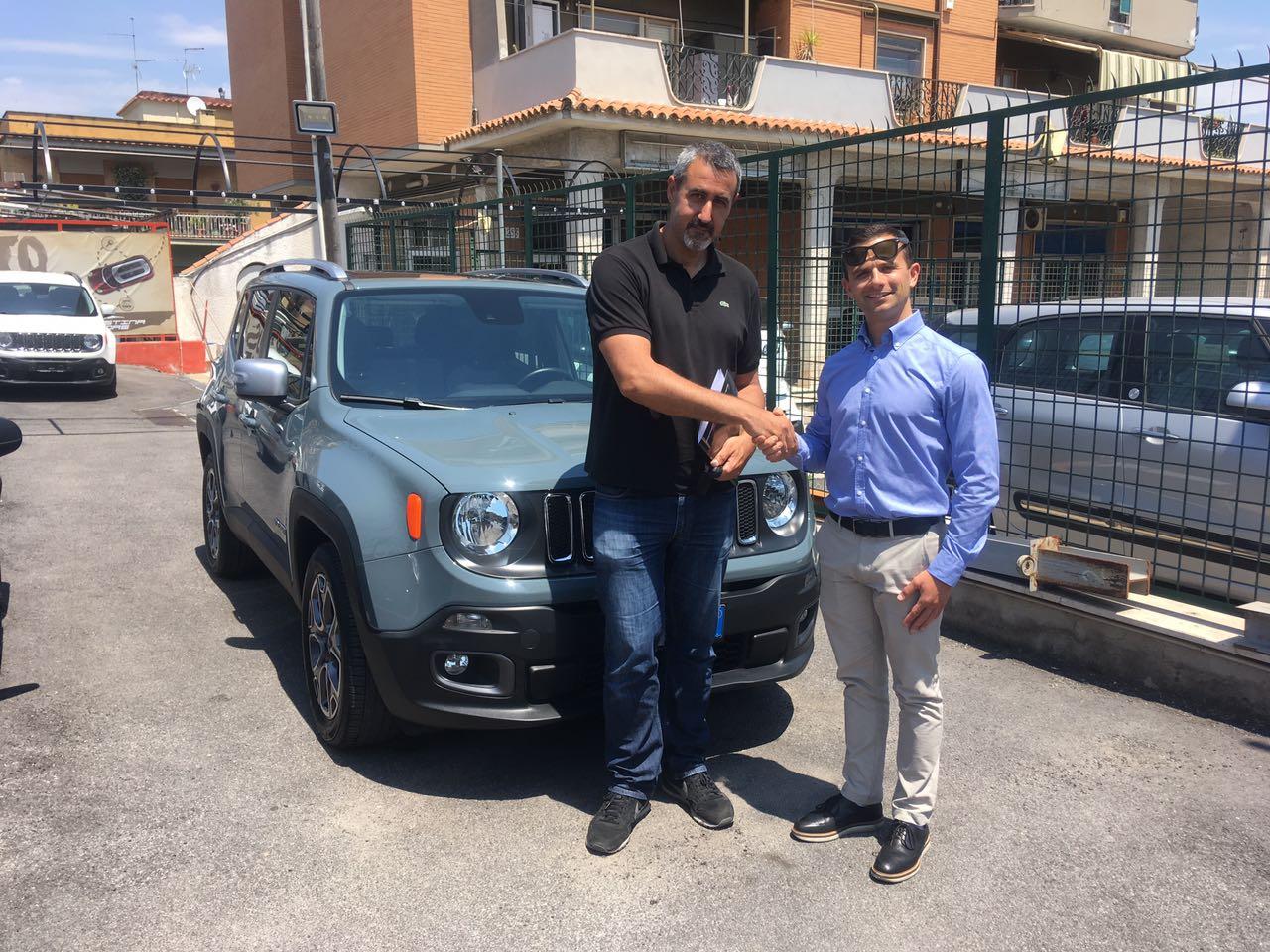Consegna jeep renegade Eddy